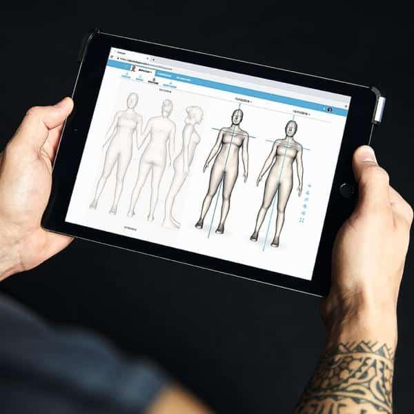 scan 3d mesure corporelle