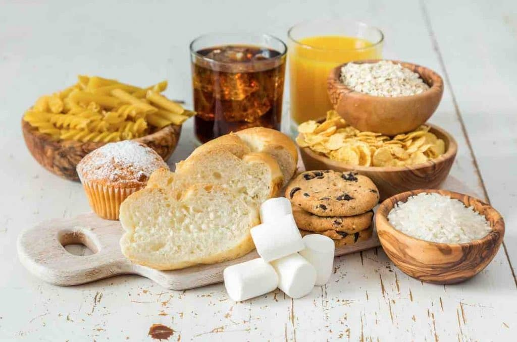 Aliments charge glycemique elevee
